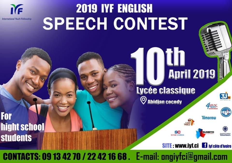 IYF English Speech Contest