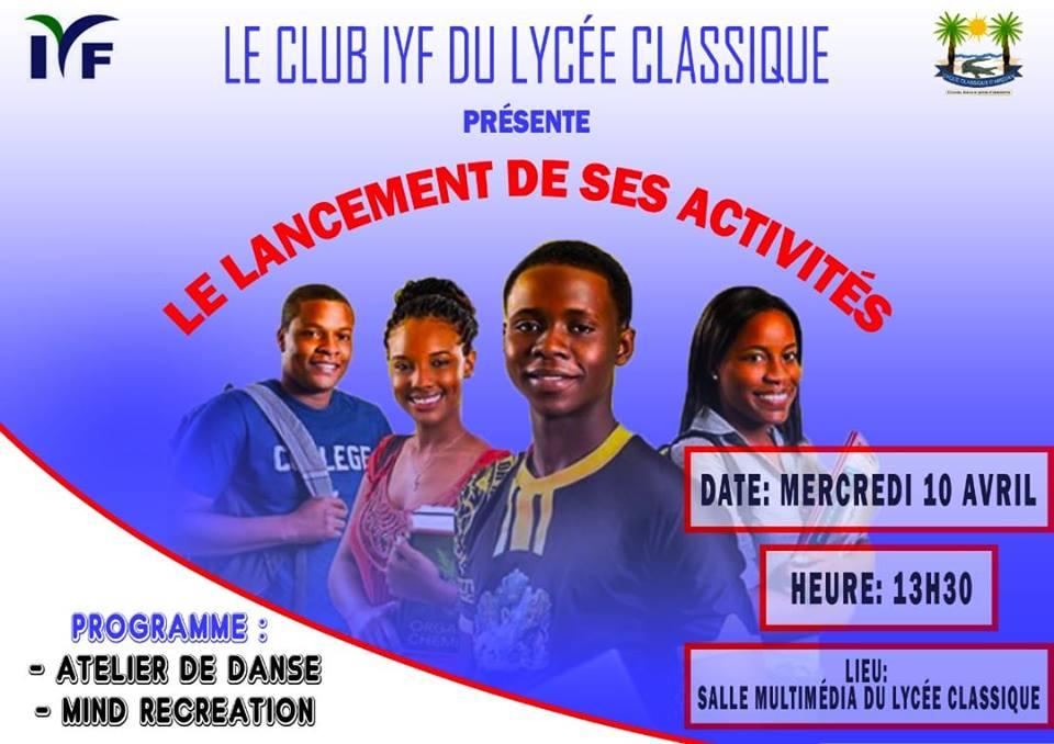 Le Lycée Classique d'Abidjan ouvre son Club IYF